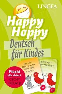 Happy Hoppy Fiszki dla dzieci: cechy i relacje