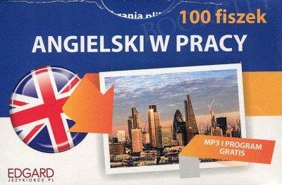 Angielski 100 fiszek W pracy Fiszki + mp3 online