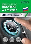 Rosyjski w 1 miesiąc Super zestaw