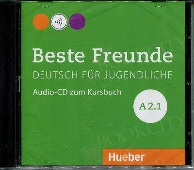 Beste Freunde A2.1 Audio CD do podręcznika A2/1(1 szt.) edycja niemiecka