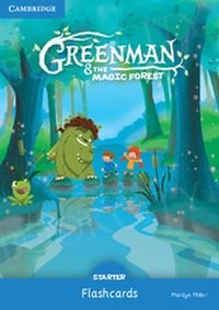 Greenman and the Magic Forest Starter Flashcards (Pack of 48)