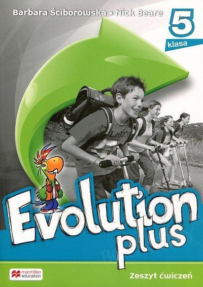 Evolution plus klasa 5 Zeszyt ćwiczeń