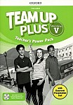 Team Up Plus klasa 5 Teacher's Power Pack z kodem dostępu do Classroom Presentation Tool