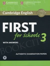 Cambridge English First for Schools 3 FCE (2018) podręcznik