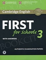 Cambridge English First for Schools 3 FCE (2018) Self Study Pack (Student's Book with answers + Audio)