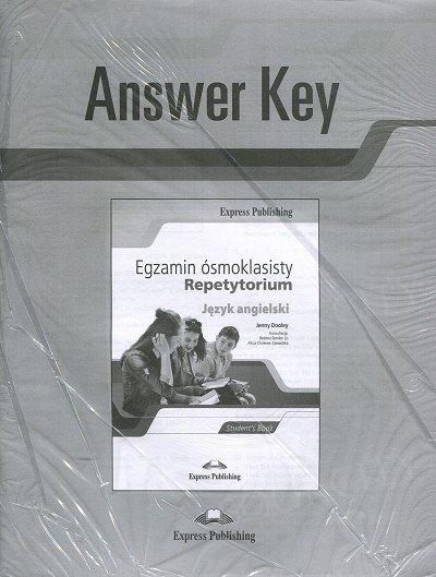 Egzamin ósmoklasisty. Repetytorium Answer Key