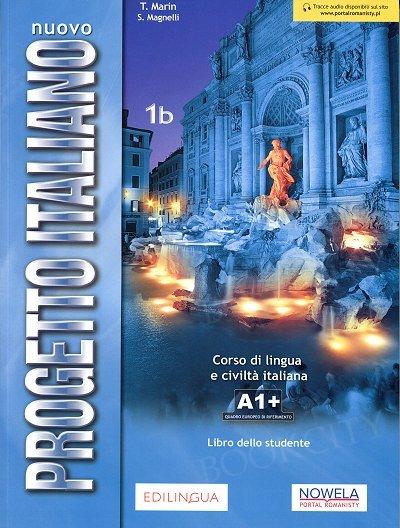 Nuovo Progetto Italiano 1B (Reforma 2019) podręcznik