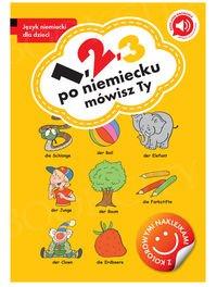 1 2 3 - po niemiecku mówisz ty Książka + mp3 online
