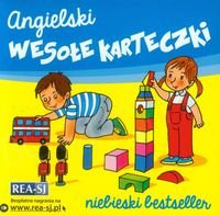 Angielski Wesołe karteczki Niebieski Bestseller