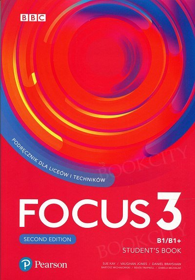 Focus 3 Second Edition Student's Book + Digital Resources