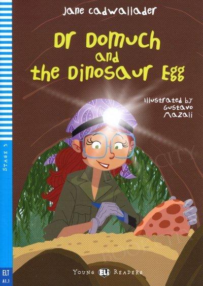 Dr Domuch and the dinosaur egg Książka+audio online