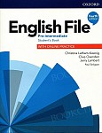 English File (4th Edition) Pre-Intermediate Student's Book with Online Practice