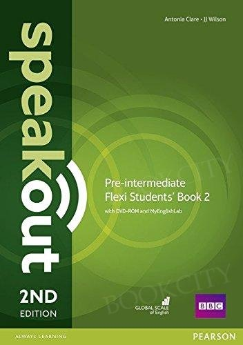 Speakout Pre-Intermediate (2nd edition) Student's Book Flexi 2 with MyEnglishLab