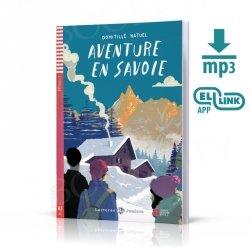 Aventure en Savoie Książka + audio online