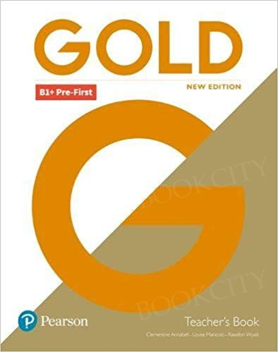Gold B1+ Pre-First New Edition książka nauczyciela