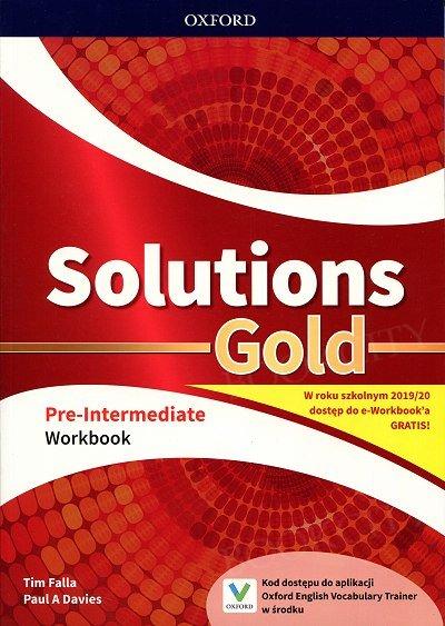 Solutions Gold Pre-Intermediate Ćwiczenia