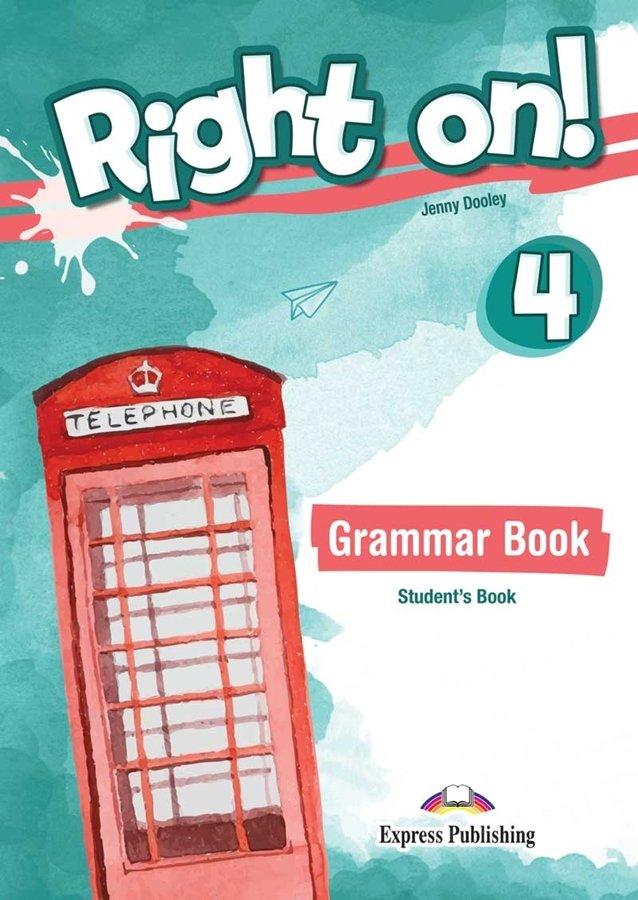 Right on! 4 Grammar Book (wersja dla ucznia) + kod DigiBook
