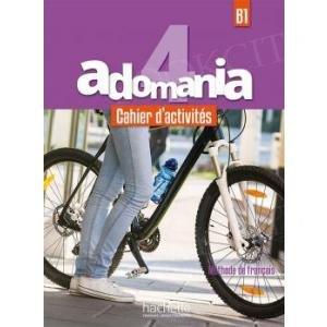 Adomania 4 Zeszyt ćwiczeń + CD + Parcours digital