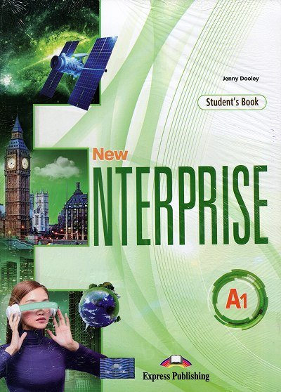 New Enterprise A1 Sudent's Book + DigiBook (edycja międzynarodowa)