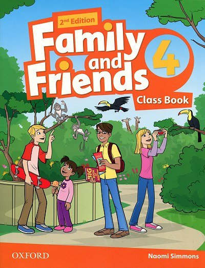 Family and Friends 4 (2nd edition) Class Book