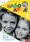 Hallo Anna neu 1 (wersja niemiecka) Podręcznik metodyczny z kartami obrazkowymi dla szkół językowych
