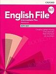 English File Intermediate Plus (4th Edition) Workbook with Key