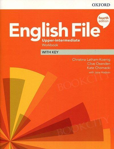 English File Upper-Intermediate (4th Edition) Workbook with Key