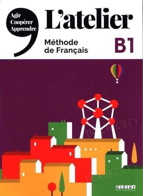 L'atelier 3 Podręcznik + DVD-ROM
