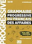 Grammaire progressive du Francais des Affaires Niveau Intermédiaire podręcznik