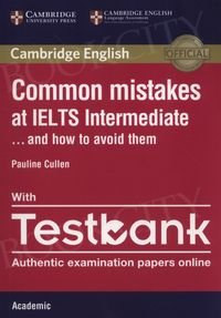 Common Mistakes IELTS Intermediate Academic with Testbook