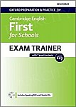 Cambridge English First for Schools Exam Trainer Student's Book Pack with Key