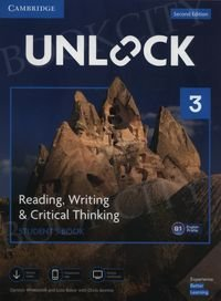 Unlock 3: Reading, Writing, & Critical Thinking Student's Book Mob App and Online Workbook w/ Downloadable Video