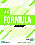 Formula B2 First Exam Trainer with key with student online resources + App + eBook