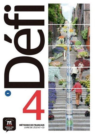 Défi 4 (wersja francuska) Podręcznik + CD
