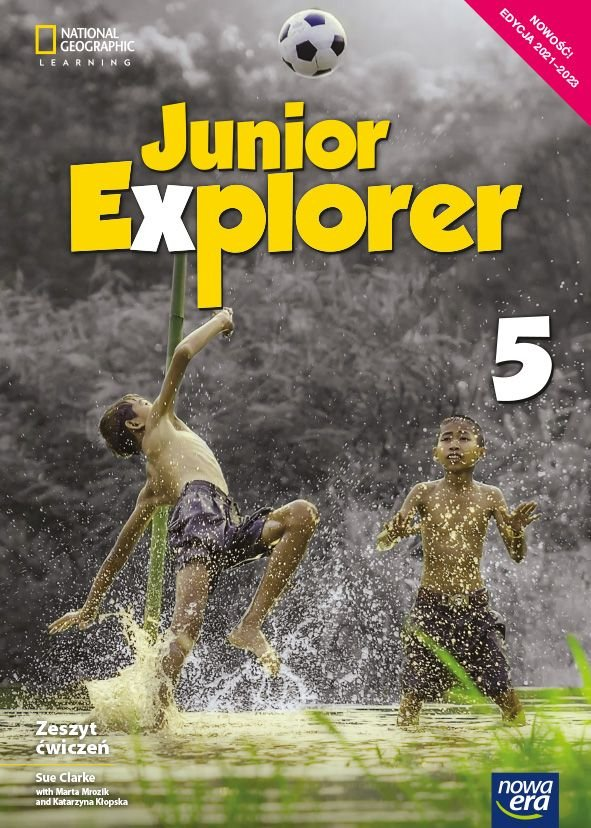 Junior Explorer klasa 5 Zeszyt ćwiczeń