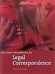 Oxford Handbook of Legal Correspondence
