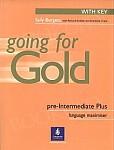 Going for Gold Pre-Intermediate Plus Language Maximiser (Key) plus Audio CD
