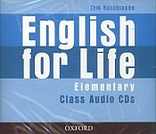 English for Life Elementary Class Audio CD