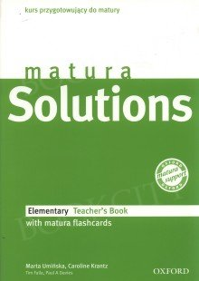 matura Solutions Elementary książka nauczyciela