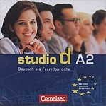 studio d A2 Materiały audio do pracy na zajęciach (2 CD)