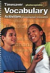 Vocabulary Activities Pre-intermediate / Intermediate