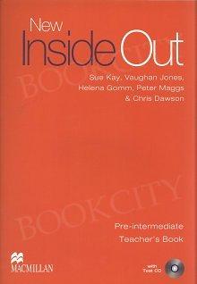 New Inside Out Pre-Intermediate książka nauczyciela