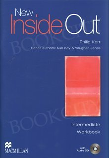 New Inside Out Intermediate Workbook plus Audio CD (no key)