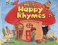 Hello Happy Rhymes Pupil's Pack (Pupil's Book + Audio CD + DVD)