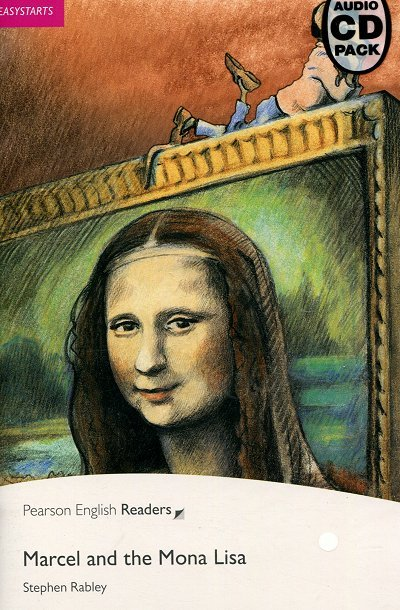 Marcel and the Mona Lisa Book plus Audio CD