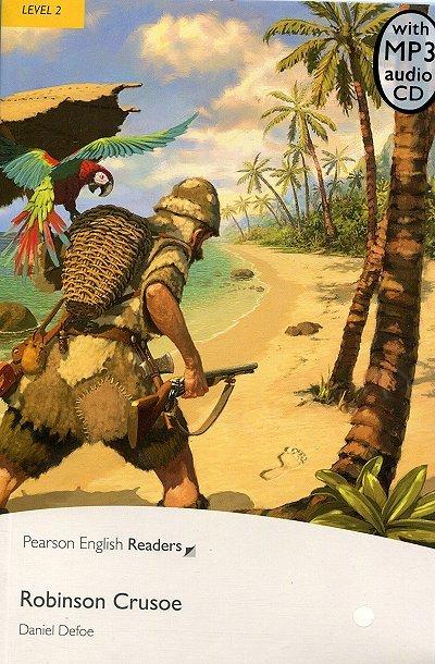 Robinson Crusoe Book plus mp3