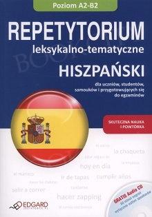 Hiszpański. Repetytorium leksykalno-tematyczne Książka + Audio CD