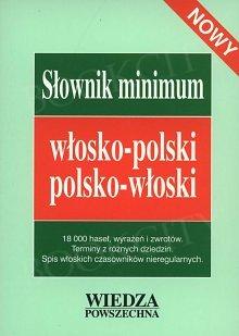 Słownik minimum włosko-polski, polsko-włoski