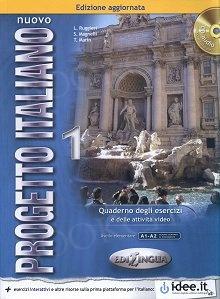 Nuovo Progetto Italiano 1 Edizione aggiornata Ćwiczenia + CD