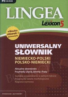 Lingea Lexicon 5 Uniwersalny Słownik niemiecko polski polsko niemiecki (Płyta CD)